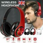 'Wireless Headphones Bluetooth Headset Noise Cancelling Stereo Earphones Over Ear