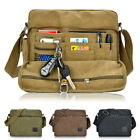 Men's Canvas Vintage Military Messenger Shoulder Bag Handbag Crossbody Satchel