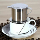 Vietnamese Coffee Simple Drip Filters Press Maker Single Cup Stainless Steel New