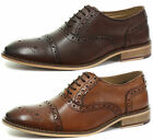 New Roamers 5 Eyelet Mens Brogue Oxford Lace Up Shoes ALL SIZES AND COLOURS