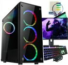 Fast Intel Quad Core I5 Gaming Pc Computer 8gb Ram 1tb Hdd 240gb Ssd Gt 710 2gb