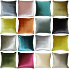 Riva Paoletti Luxe Soft Faux Velvet Piped Cushion Cover