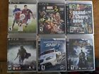 PS3 Sony playstation games, with covers