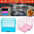 DOG CAGE PUPPY TRAINING CRATE PET CARRIER -SMALL MEDIUM LARGE XL CAGES TRANSPORT