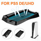 Vertical Stand Dock Base Holder Cooling for Sony Playstation5 PS5 DE/UHD Console
