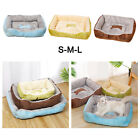 Soft Washable Dog Bed Pet Warm Basket Cushion HOuse Nest Blanket for Sleeping
