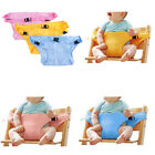 Baby portable high chair seat safety belt foldable sacking dinning seat belts Jc