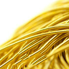 4M Metal Wire Cord Coil Bullion Gimp Embroidery Jewelry Making DIY Handmade Acc