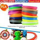 25-100m PLA Filament for 3D Doodle Printing Pen 3D Printer 1.75mm Colours Set