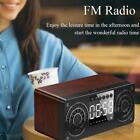 NEU Bluetooth Speaker Outdoor Stereo Bass USB/TF/FM Radio Clock Alarm BEST Y7H2
