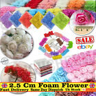 144/72 Pcs Foam Mini Roses Head Small Flowers Wedding Home Party Decoration Uk