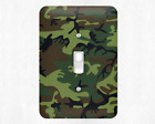Camouflage Cammo Paintball Military Metal Switch Light Covers, rocker  outlet