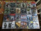 SONY PS3 game titles exc clean disks with covers
