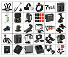 GoPro HERO 9/8/7/6/5/4/3 Accessories Housings Straps LED Light Batteries + More
