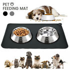 Pet Puppy Silicone Waterproof Feeding Food Mat Dogs Cats Non Slip Bowl Placemat