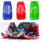 Snow Sled Sledge Skiing Toboggan Board Outdoor Luge Sports Game Supply for Kids