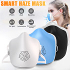 USB Rechargeable Active Filtration Electric Fan HEPA Face Mask