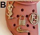 Купить Gift for her!!! 4 pc Premium Shoe charms Compatible W/ Crocs Fancy Bling Jewelry