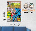 Vision and Scarlet Witch #2 1985 Marvel Comic Cover Wall Poster