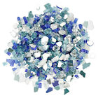 Fire Glass for Fireplace Fire Pit 1/2inch High Luster Reflective Tempered Rocks