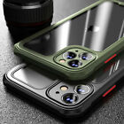 Shockproof Case for iPhone 12 11 Pro Max XR 7/8 PLUS SE Bumper Clear Case Cover