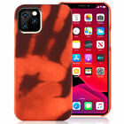 Heat Sensitive Case Temperature Color Changing For iPhone 12 11 Pro Max XS 8 7 6