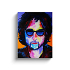Bob Dylan Painting Gallery Wrapped Canvas Print