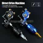 Coreless Motor RCA Interface Adjustable Stroke Direct Drive Tattoo Machine Gun