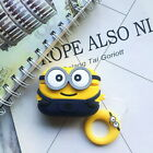 3D Minions Earphone Case For Airpods Pro Case Cute Soft Silicone Wireless