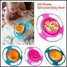 Universal 360 Baby Rotate Spill Proof Infant Feeding Dishes Kids Gyro Bowl HOT