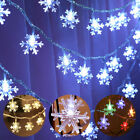 LED+Snowflake+Curtain+Fairy+String+Light+Battery+Twinkle+Window+Party+Decoration