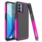 For OnePlus Nord N200 5G Shockproof Rugged Hard Phone Case Cover /Tempered Glass