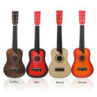 Classic 25'' Basswood Acoustic Guitar Learning Toy Children Toddler Beginner