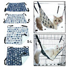 Cute Cat Hammock Hanging Adjustable Pet Rest Cozy Bed for Puppy Rabbits Dogs