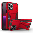 For iPhone 13 Pro Max 13 mini Shockproof Hybrid Kickstand Rugged Hard Case Cover