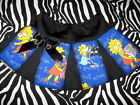 NEW Mini Baby  Girls Black,Blue Simpsons Tutu Skirt,