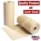 """12"""" 30 lbs 1200 Ft Brown Kraft Paper Roll Shipping Wrapping Cushioning Void Fill"""