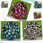 20pc Rhinestones Rond Resin Spacer Bead Charm AB980