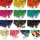 Wholesale 1200pcs wooden beads 3x4mm donut choose from 12 colours free ship