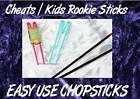 CHEATS EASY Rookie CHOPSTICKS christmas stocking stuffer filler children X2 pr