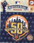 2012 New York Mets 50th Anniversary Logo Patch - 100% Authentic & MLB Licensed