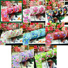 New 1 Inch 5 Yards Rose Flower Grosgrain Ribbon Sewing Craft (8 color)