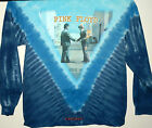 "PINK FLOYD ""WISH YOU WERE HERE"" 2-SIDED LONG SLEEVE TIE DYE T-SHIRT NEW"