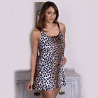 Plus Size Lingerie Sizes 1X 2X 3X or 4X Animal Print Chemise  5550X
