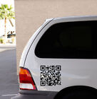Qr Code For Your Website Wall Or Car Decal Sticker,  Highest Quality
