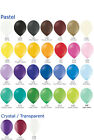"50 plain 12""  Large Latex Party Balloons - Choose any mix of  29 colours"
