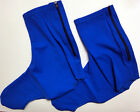 Royal Blue Lycra Cycling Booties / Shoe covers - Made by GSG in Italy.