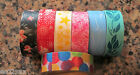 Japanese Washi Masking Craft Deco Tape 1.5cm 10m Choice of 7 Designs