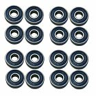 16 Team Dogz Pro Skate Board Wheel Bearings from £12.99 ABEC7 ABEC9 ABEC11