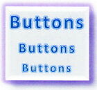 Specialty Buttons for sewing, accents, quilting, crafting and MORE!! M138